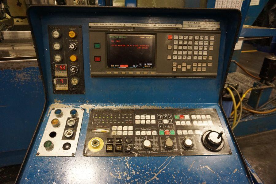 Modig MD7200, Fanuc 16M, 20K RPM, 24 ATC, CT40, s/n 970327, New 1997 - Image 11 of 14