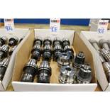 Assorted HSK63 Collet Tool Holders