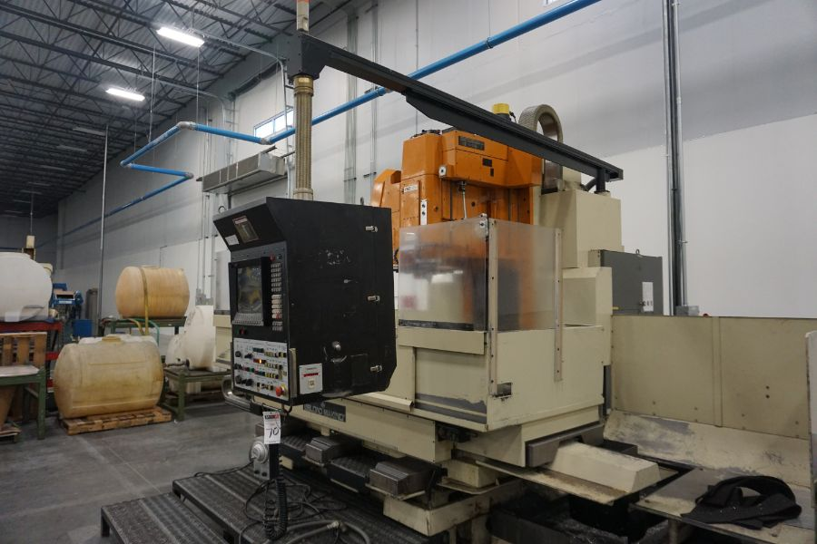 LeBlond Makino FNC 178 4-Axis, Fanuc 11M Ctrl, 79'' x 31''x 31''x 27'' Travels, 3,200 RPM, with 30 - Image 5 of 14