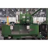 "OKK MCV-860 4-Axis VMC, Fanuc Neomatic System 11 Control, 80"" x 34"", 6000 RPM, CT50, 30 ATC, s/n"