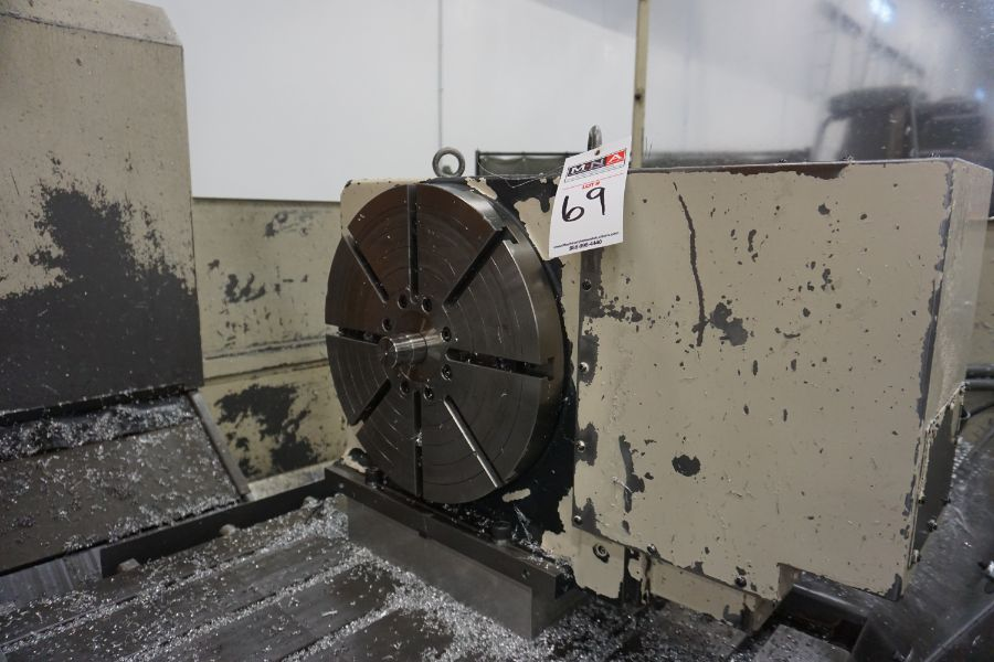 """Makino FNC-208 4-Axis VMC, Fanuc 6M Control, 32"""" x 98"""", 3200 rpm, 30 ATC, CT50, s/n 81 with 16"""" - Image 15 of 16"""