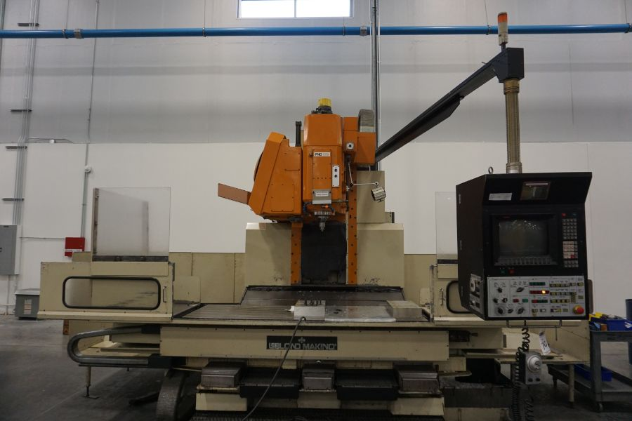 LeBlond Makino FNC 178 4-Axis, Fanuc 11M Ctrl, 79'' x 31''x 31''x 27'' Travels, 3,200 RPM, with 30 - Image 2 of 14
