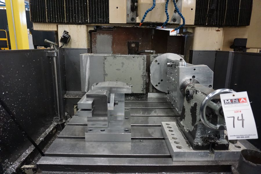 LeBlond Makino FNC 178 4-Axis, Fanuc 11M Ctrl, 79'' x 31''x 31''x 27'' Travels, 3,200 RPM, with 30 - Image 14 of 14