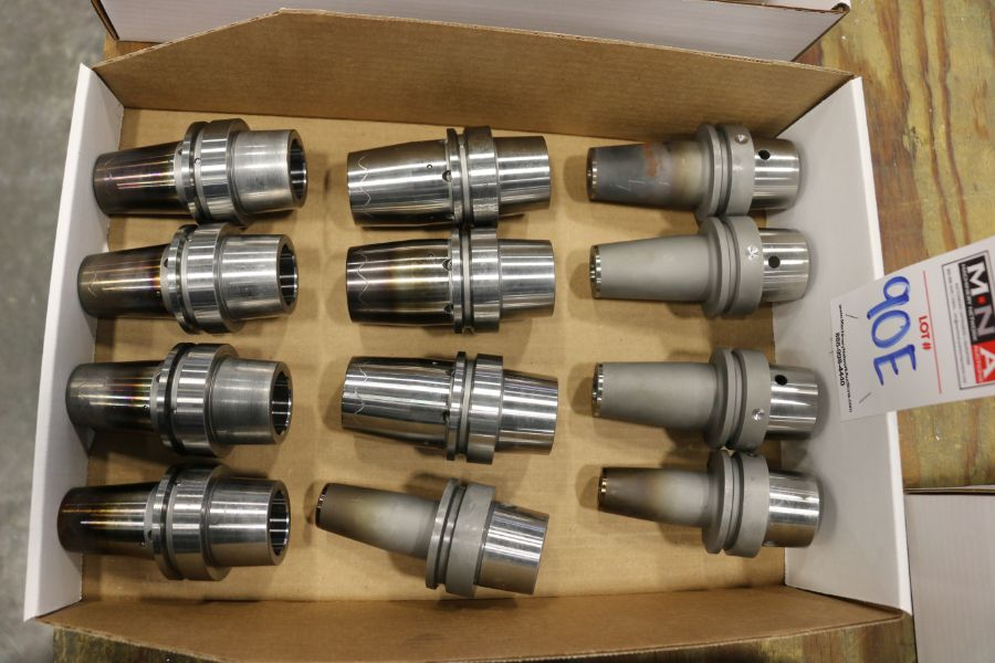 Assorted HSK63 Shrink Fit Tool Holders - Image 4 of 4