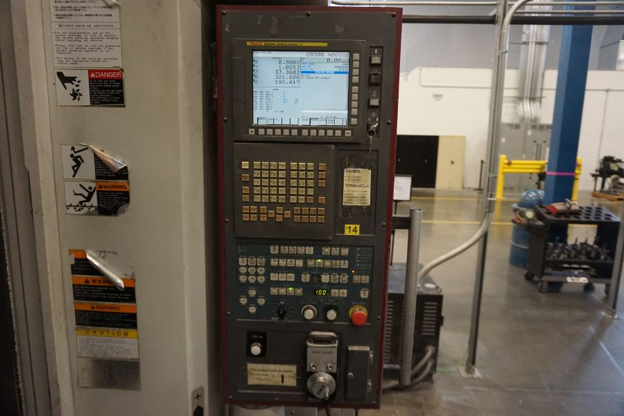 """OKK HM800 5-Axis, Fanuc 31i Model A5, (2) 32"""" Pallets, 12k RPM, CT50, 60 ATC, New 2011 with 12"""" - Image 9 of 17"""