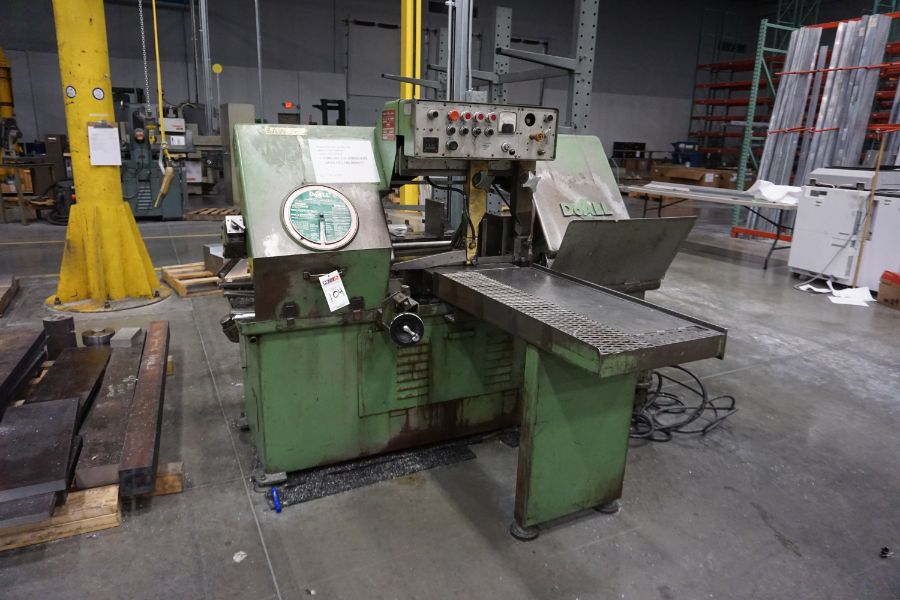 """DoAll C-1216A Hydraulic Horizontal Bandsaw, 160"""" Blade, s/n 373-79273 - Image 6 of 9"""