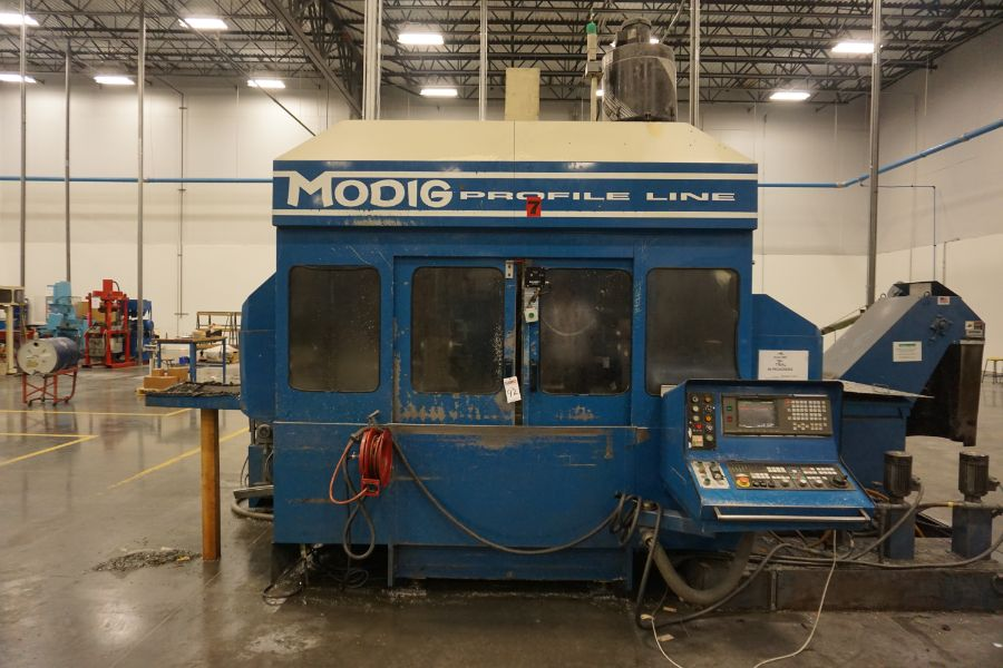 Modig MD7200, Fanuc 16M, 20K RPM, 24 ATC, CT40, s/n 970331, New 1997 - Image 2 of 14