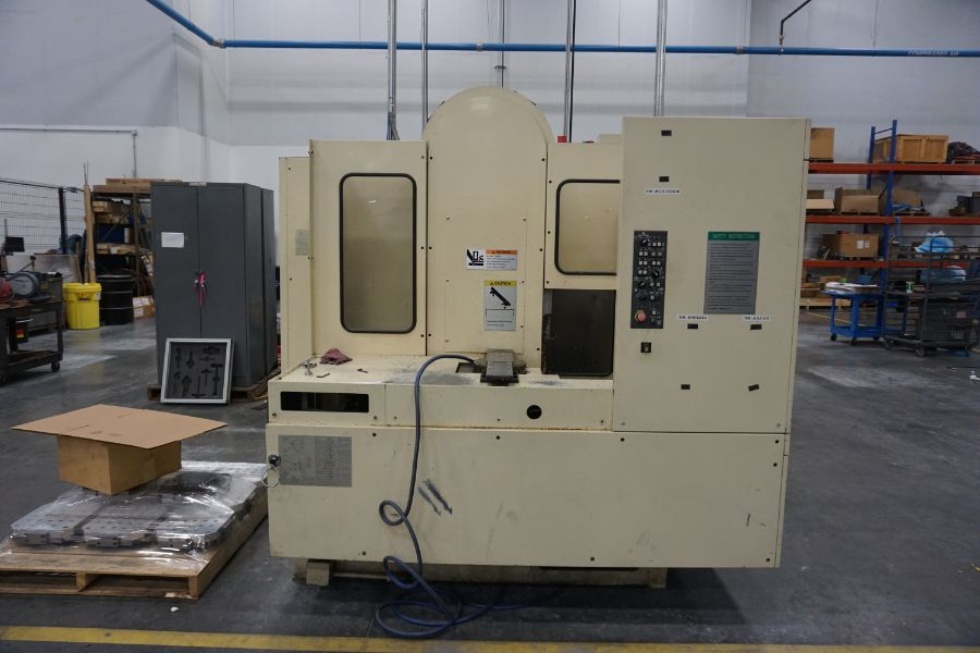 Tsugami FMA3-II, 4-Axis, Fanuc 18i, (10) Position Pallet Changer, 11.8'' sq. Pallets, 15000 RPM, 120 - Image 9 of 12