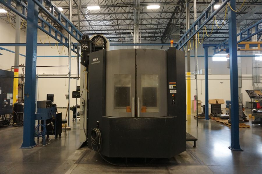 "OKK HM800S 4-Axis, Fanuc 310iS Model A, (2) 32"" Pallet, 12K RPM, CT50, 160 ATC, CTS, Chip - Image 10 of 20"