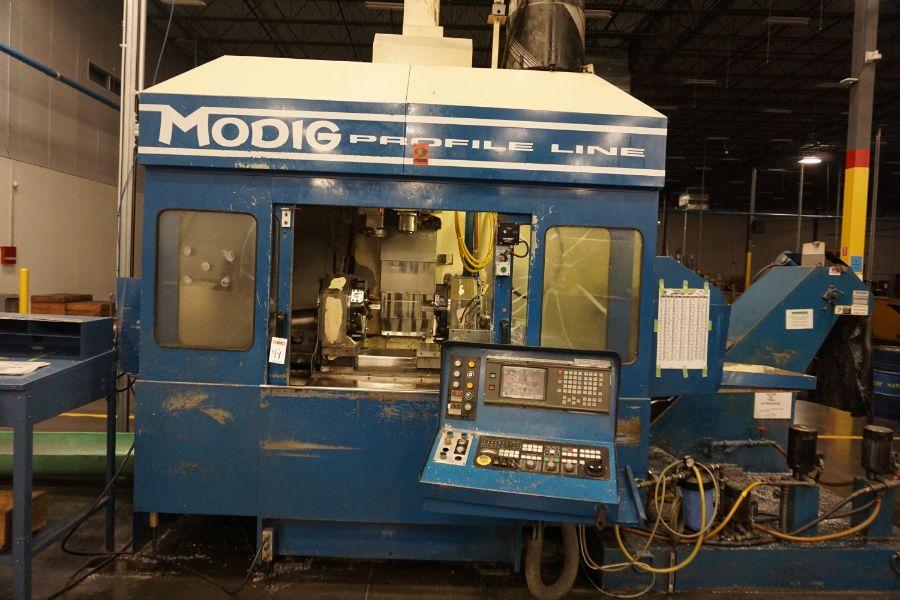 Modig MD7200, Fanuc 16M, 20K RPM, 24 ATC, CT40, s/n 970327, New 1997 - Image 5 of 14