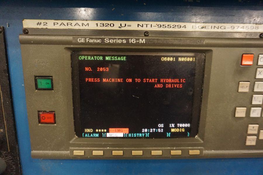 Modig MD7200, Fanuc 16M, 20K RPM, 24 ATC, CT40, s/n 970327, New 1997 - Image 12 of 14