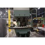"Makino Three D, 3 Spindle VMC, Fanuc GN6 Series Control, 20"" x 72"" Table"