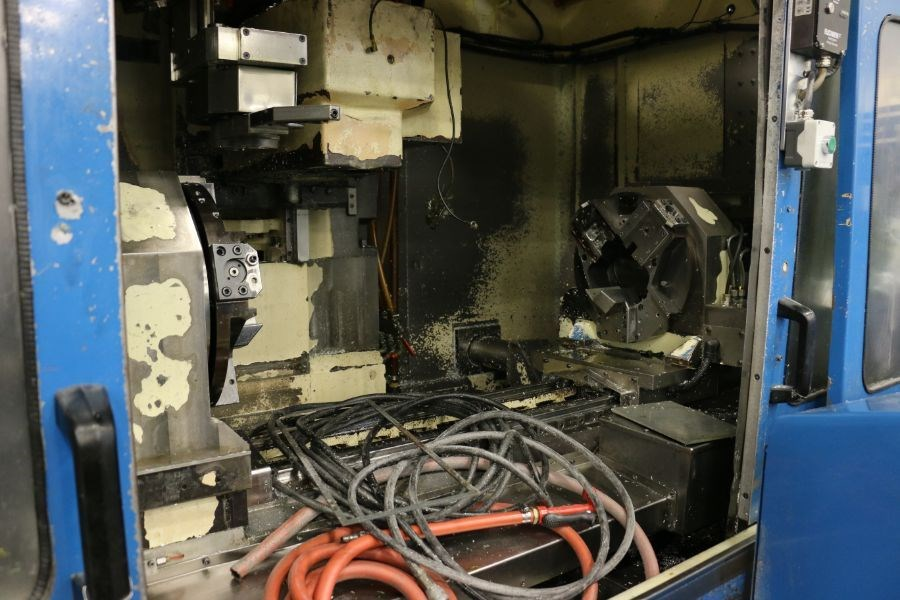 Modig MD7200, Fanuc 16M Control, 20K RPM, 24 ATC, CT40, s/n 970330, New 1997 *Parts Only Machine* - Image 6 of 7