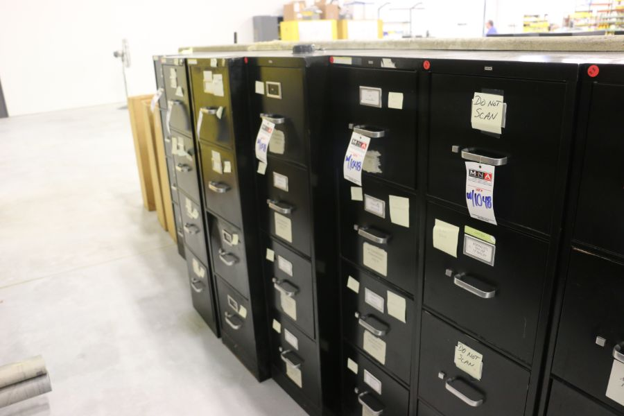 Lot 1048 - 4 Drawer Filing Cabinets