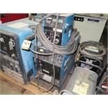 MILLER MAXTRON 450 CC/CV DC INVERTER ARC WELDER W/ MICRO PROCESSOR WIRE FEEDER