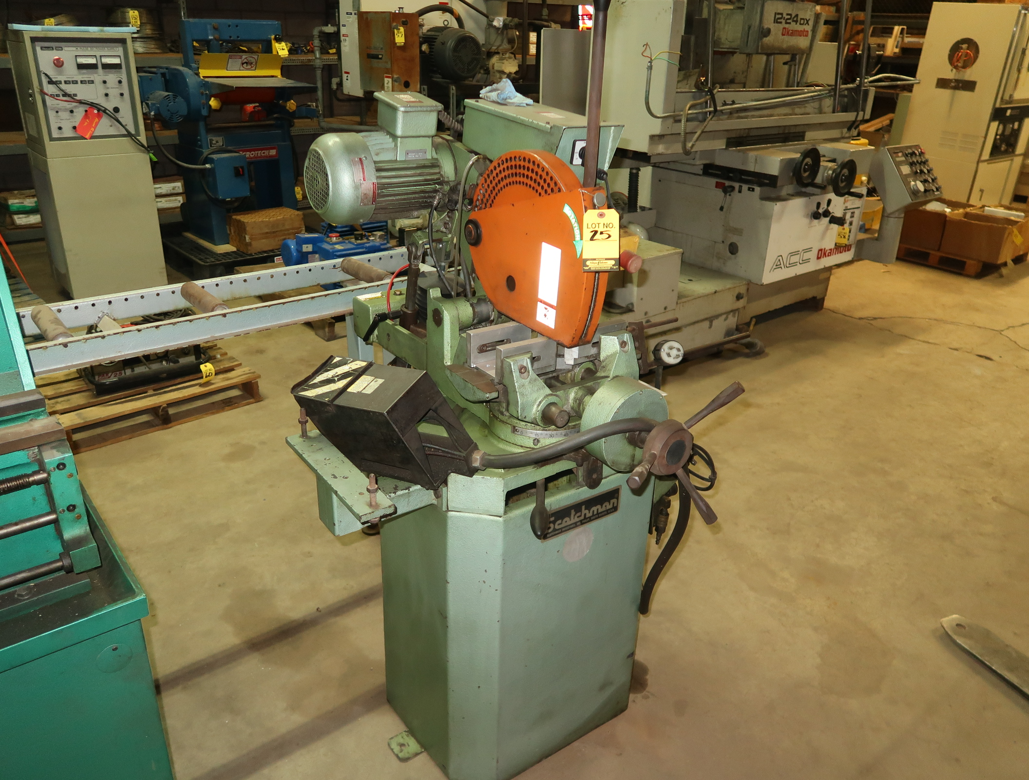 SCOTCHMAN MDL CPO350NFPKPD AUTOMATIC COLD SAW