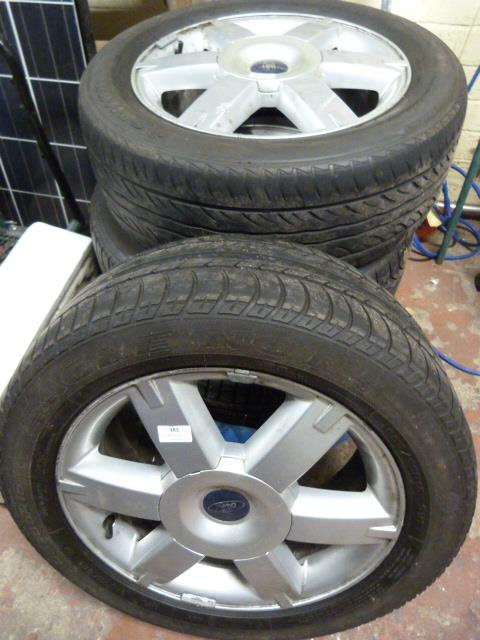 Lot 383 - Four Ford Wheels R16