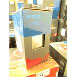 AMD Ryzen 5 1600X 3.6 GHz 6-Core Processor - 16 MB - Socket AM4, untested and missing heat sink