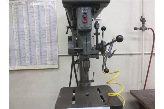 15'' Clausing Model 16SC Floor Drill Press, 10'' 14