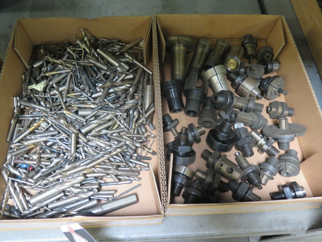 Lot 51 - Drills and Expaning Mandrel Heads