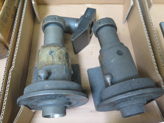 Lot 38 - 5C Spin Fixtures (2) and 5C Endmill Fixture