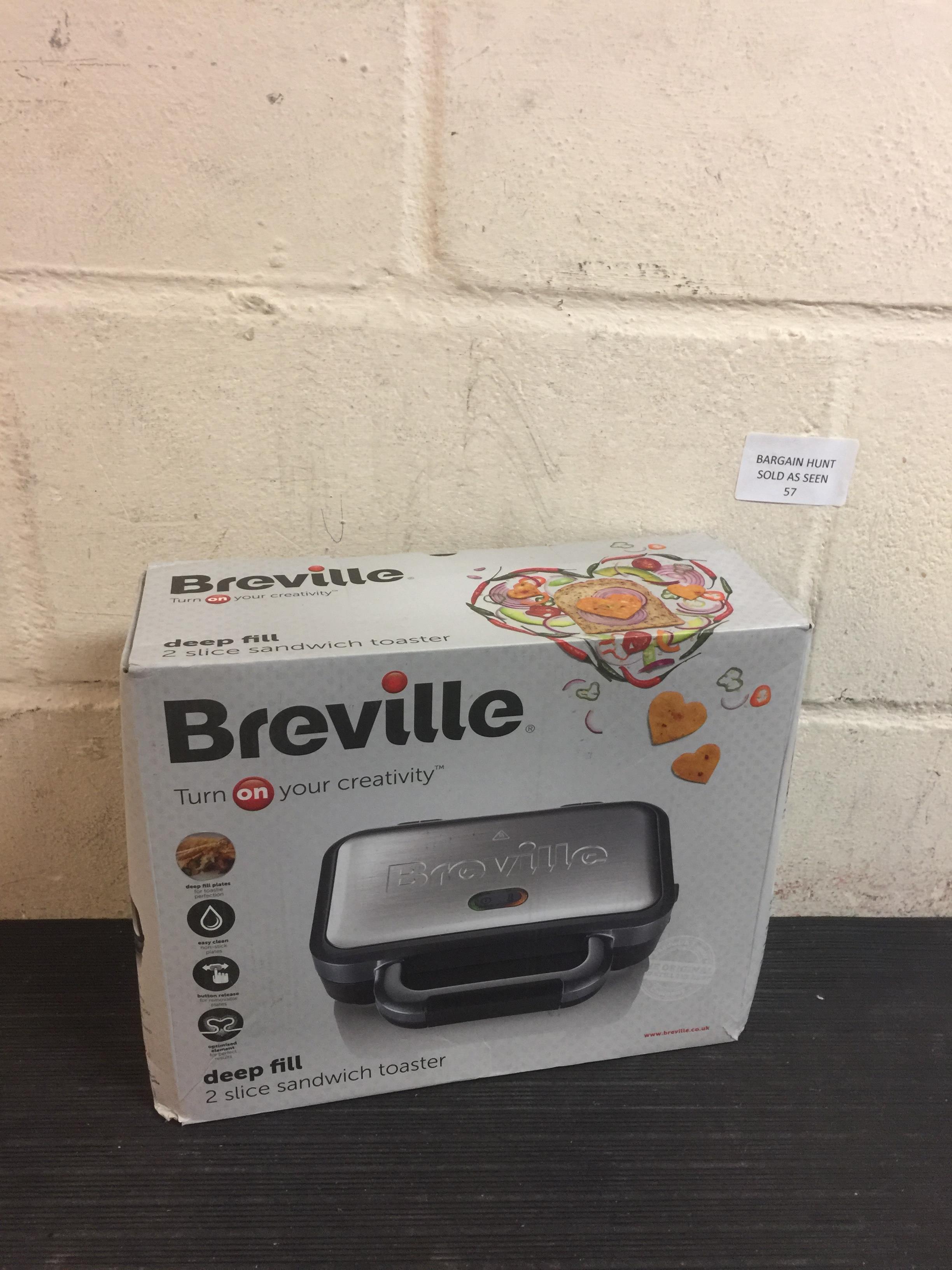 Lot 57 - Breville Sandwich Toaster