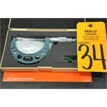 """Mitutoyo BLM-2"""" V Outside Blade Micrometer"""