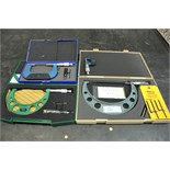 """Asst. Mitutoyo, InSize, STM 0-1"""", 6-7"""", 2-3"""" Outside Micrometers"""