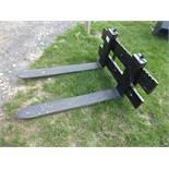 Forklift backplate & forks