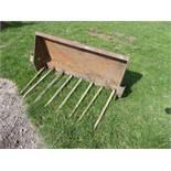 4ft manure fork for tractor loader