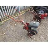 Wolseley twin row garden rotavator