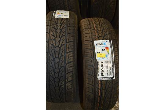 prestivo tyres for sale for motor cars