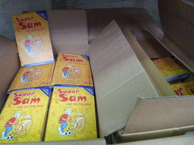 Lot 31 - Box of Super Sam and his Big Dog Books