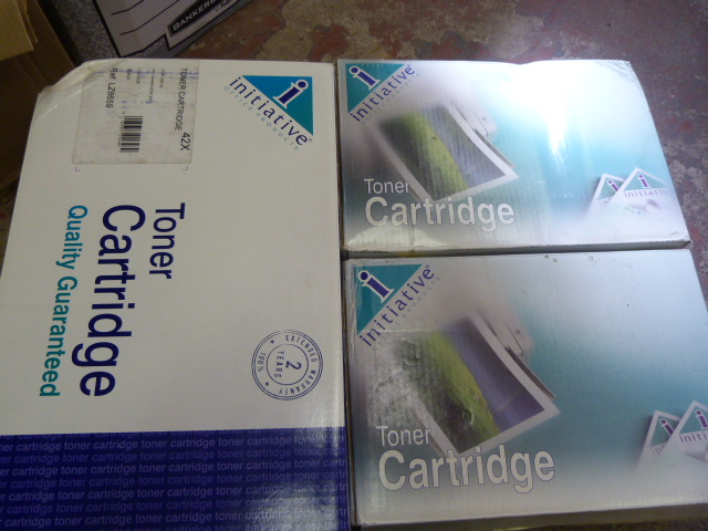 Lot 54 - Three Assorted Toner Cartridges