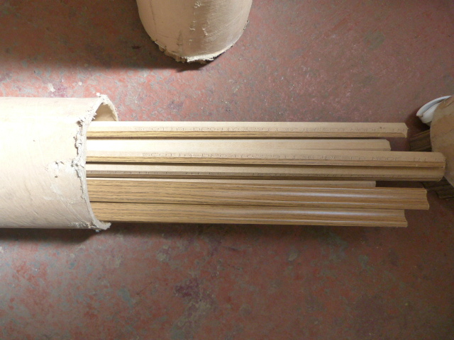 """Lot 35 - *Part Used Tube of Edging Strips (Approx 98"""")"""