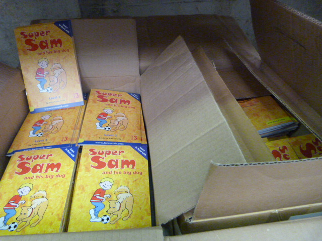Lot 30 - Box of Super Sam and his Big Dog Books