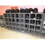 32 Station Rolling Helmut Storage Shelf