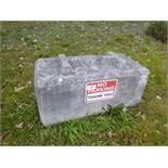(19) Concrete Lock Blocks