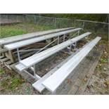 15' W Aluminum Bleachers/ Grandstands