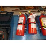 (2) Fire Extinguishers