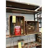 LOT: (8 pcs) Distressed Wooden Crates (Artisanal/Deco)