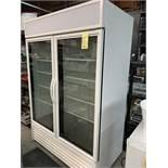 Super Réfrigérateur TRUE - 2 Portes vitrées # GDM-49-HC-TSL01