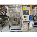 Semi-automatic working station for gears assembly, including SARTORIUS digital scale