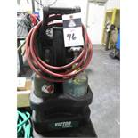 Victor Welding Torch Set w/ Tanks and Hoses (NO GAUGES) (SOLD AS-IS - NO WARRANTY)