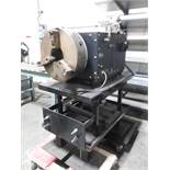 """Cypress Pipe Cutting Line w/ Bug-O Syst mdl. SEO-4450 Weld Positioner w 16"""" 3-Jaw Chuck, SOLD AS IS"""