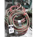 Oxy/Acetelyne Hoses (SOLD AS-IS - NO WARRANTY)