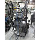 Miller PipeWorx 400 Arc welding Source s/n MF130041G w/ Miller PipeWorx Dual Feed Wire, SOLD AS IS
