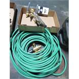 Welding Gauges and Hose (SOLD AS-IS - NO WARRANTY)