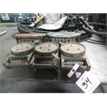Hilman Machinery Dollys (5) (SOLD AS-IS - NO WARRANTY)