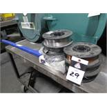 Welding Wire and Rod (SOLD AS-IS - NO WARRANTY)